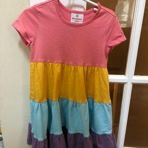hanna Andersson color block dress
